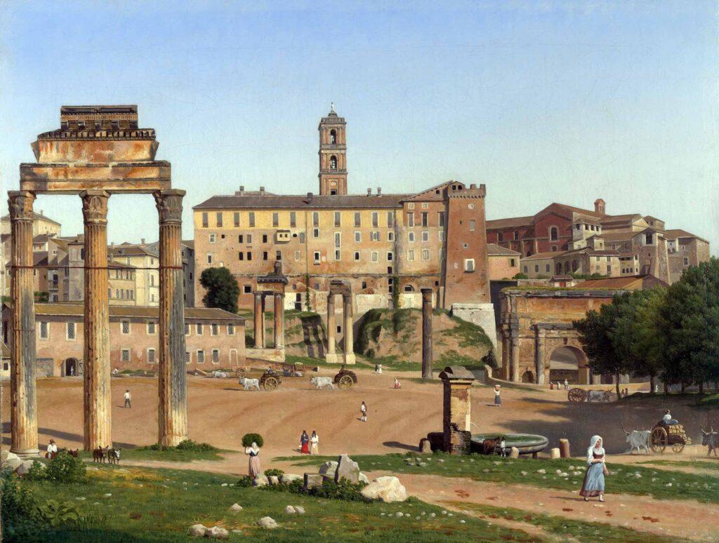 Christoffer Wilhelm Eckersberg Forum Roma