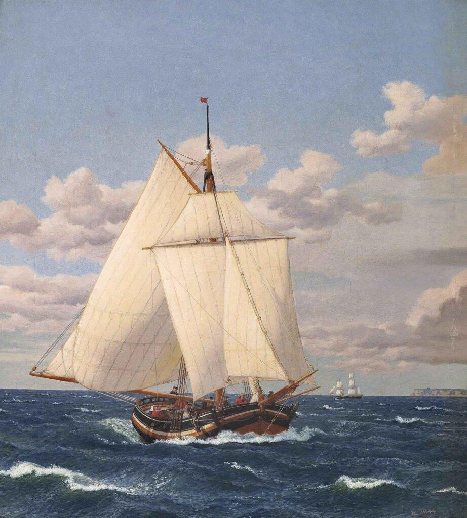 Christoffer Wilhelm Eckersberg Yelkenli