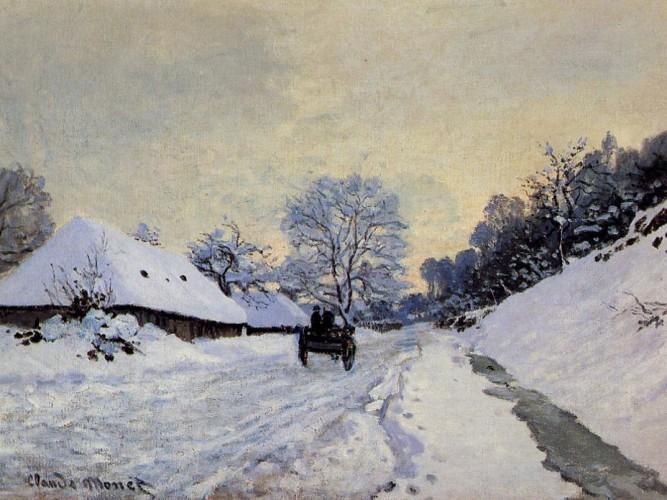 Claude Monet Karda Saint Simeon