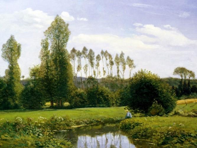 Claude Monet Rouelles'a Bakış