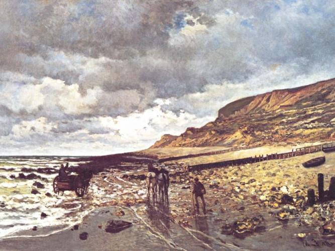 Claude Monet Heve Burnu ve Gelgit