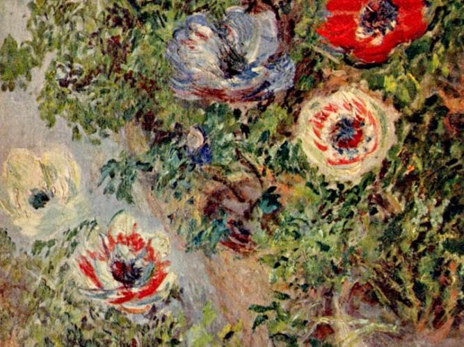 Claude Monet Dağ Laleleri