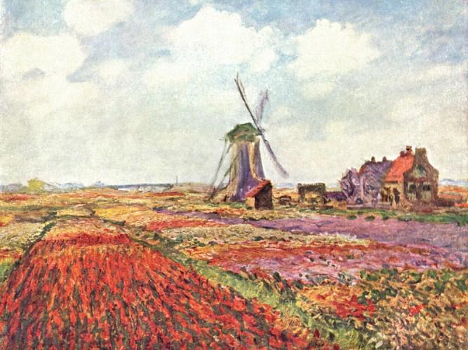 Claude Monet Lale Tarlası