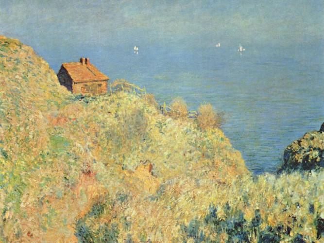Claude Monet Varengeville'de Douaniers Tepesi