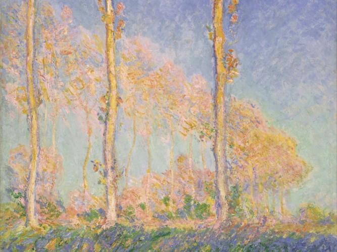 Claude Monet Sonbaharda Kavaklar