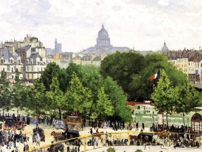 Claude Monet Prenses Bahçesi
