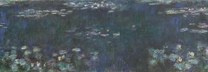 Claude Monet Nilüferler Yeşil Işıması