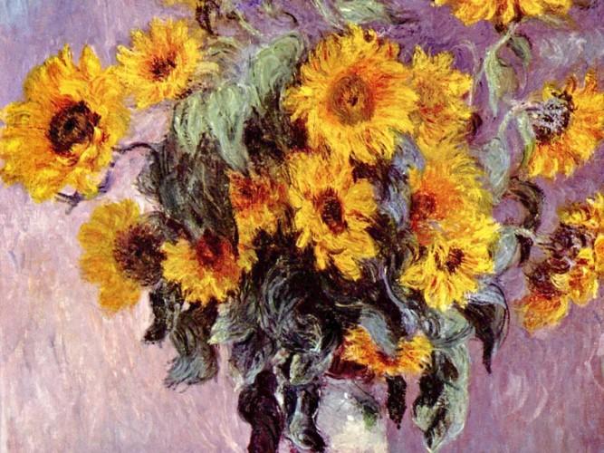 Claude Monet Ayçiçekleri