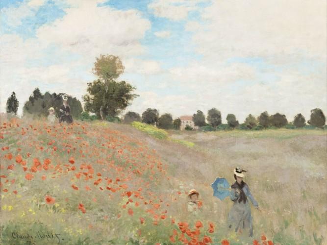 Claude Monet Gelincik Tarlası