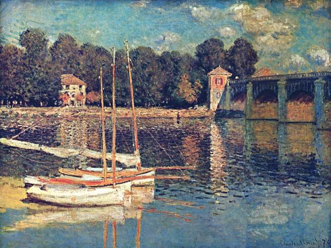 Claude Monet Argentuil Köprüsü