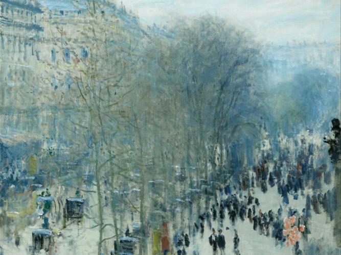 Claude Monet Capucines Bulvarı