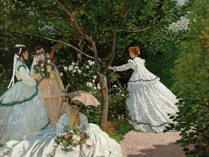 Claude Monet Bahçede Kadınlar