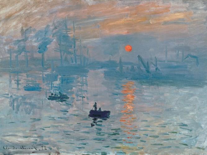 Claude Monet Gün Doğumu