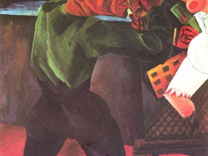 Conrad Felixmüller Otto Dix tablosu