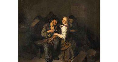 Cornelis Bega Tavernada Genç Çift