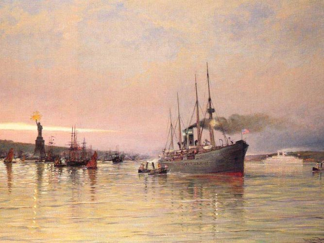 Cornelis Christian Dommelshuizen New York Limanı