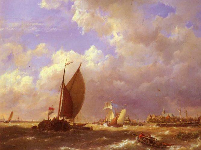 Cornelis Christian Dommelshuizen Yelkenliler