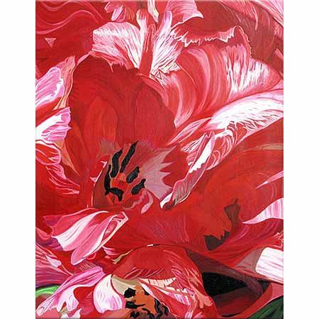 Dagmar Göğdün Kırmızı Laleler 06