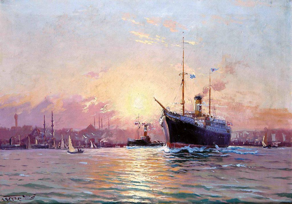 Diyarbakırlı Tahsin Istanbul Limanında