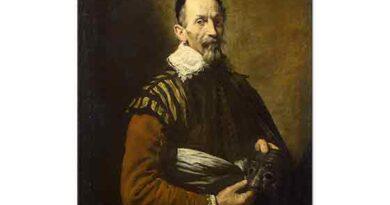 Domenico Fetti Aktör Portresi - Portrait of an Actor