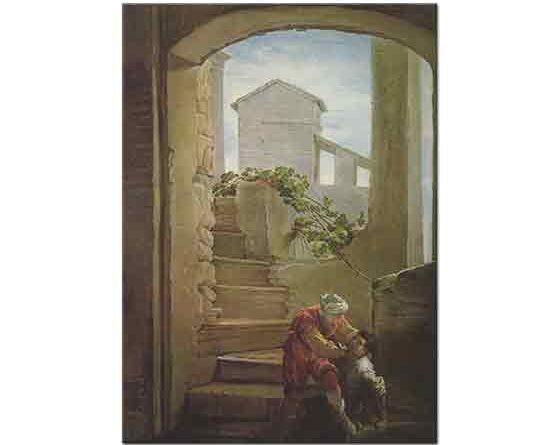 Domenico Fetti Kötü Hizmetkar Hikayesi - Parable of the Wicked Servant
