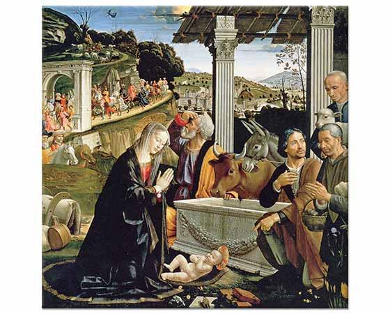 Domenico Ghirlandaio Çobanların Tazimi