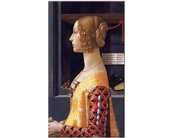 Domenico Ghirlandaio Giovanna Tornabuoni'nin Portresi