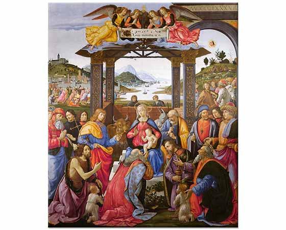 Domenico Ghirlandaio Kahinlerin Tazimi