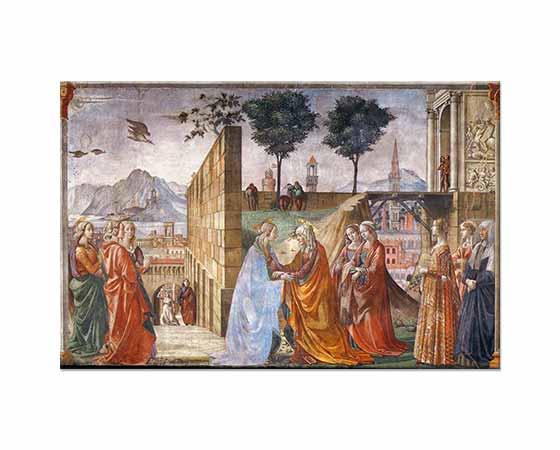 Domenico Ghirlandaio Karşılaşma