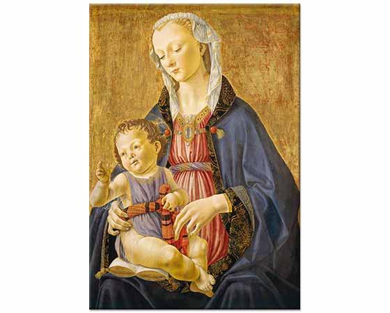 Domenico Ghirlandaio Madonna ve Çocuğu
