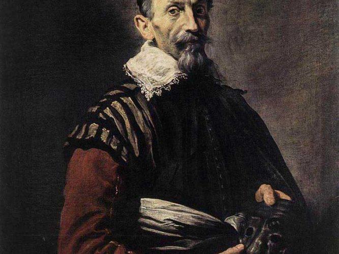 Domenico Fetti Aktör Portresi tablosu