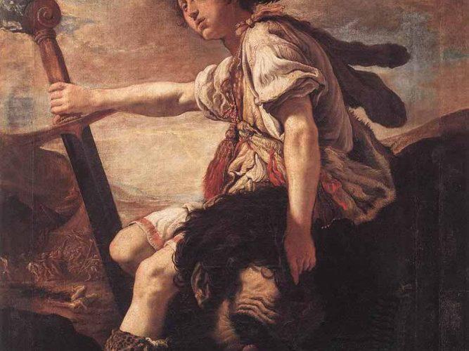 Domenico Fetti Davud ve Golyat'ın Kafası