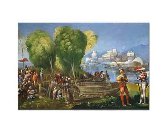 Dosso Dossi Libya Kıyılarında Aeneas ve Achates