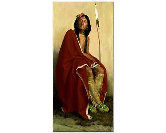 Eanger Irving Couse Taos Kabile Reisi