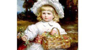 Eden Upton Eddis Sepeti ile Çocuk