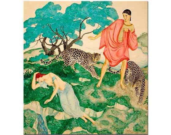 Edmund Dulac, Ariadne ve Bacchus