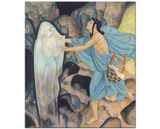 Edmund Dulac, Orpheus ve Eurydice