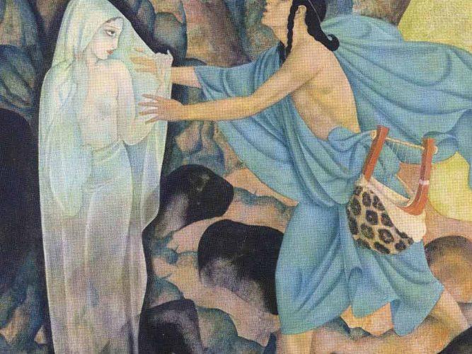Edmund Dulac Orpheus ve Eurydice
