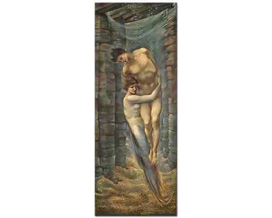 Edward Burne Jones Denizin Dibi