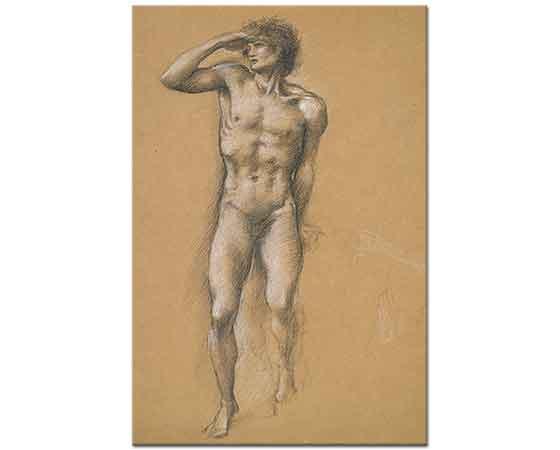 Edward Burne Jones Etüd