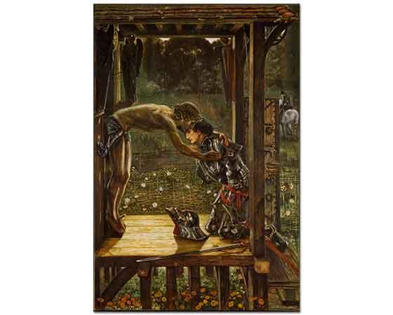 Edward Burne Jones Kutsal Şövalye