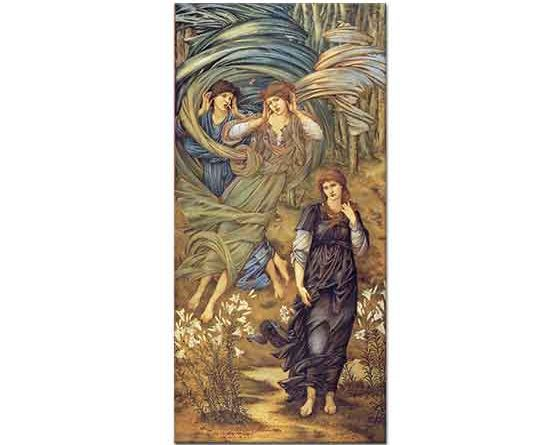 Edward Burne Jones Lübnan'lı Gelin