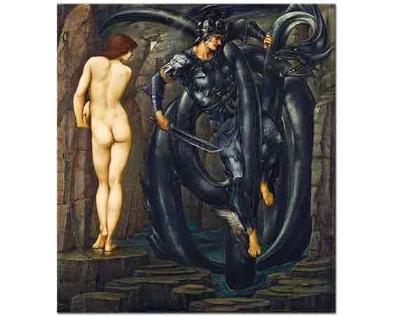 Edward Burne Jones Perseus Serisi Kaderin Sonu