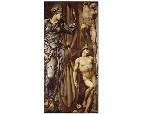 Edward Burne Jones Şans Yürütücü