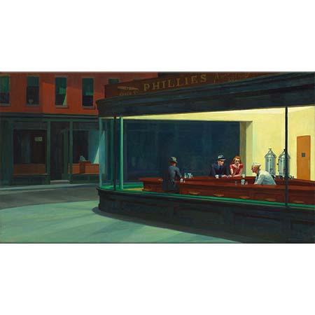 Edward Hopper Gece Kuşları