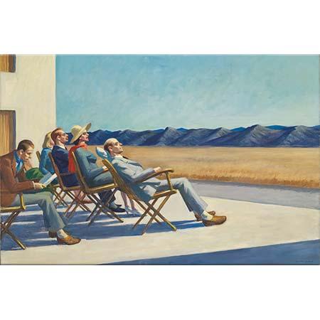 Edward Hopper Güneşte İnsanlar