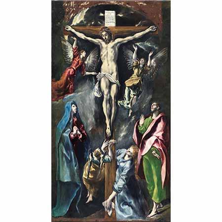El Greco Çarmıha Geriliş