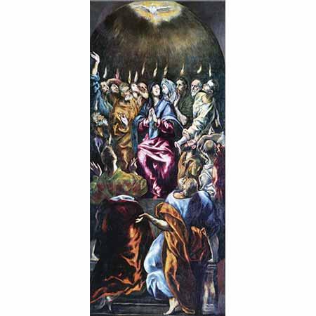 El Greco Göğe Yükseliş