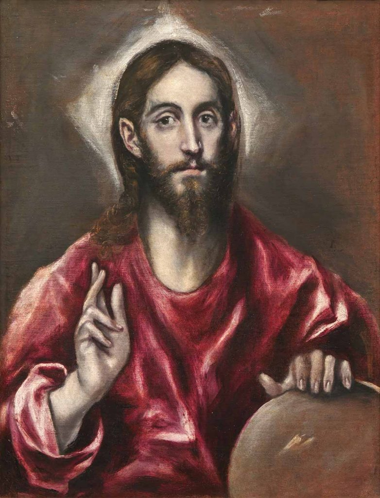 El Greco Hz İsa Dünyanın Koruyucusu