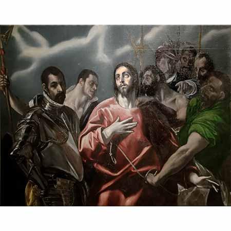 El Greco Hz İsa Elbisesi Çıkarılırken